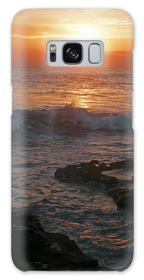 Bali Galaxy S8 Case featuring the photograph Tropical Bali Sunset by Mark Sellers