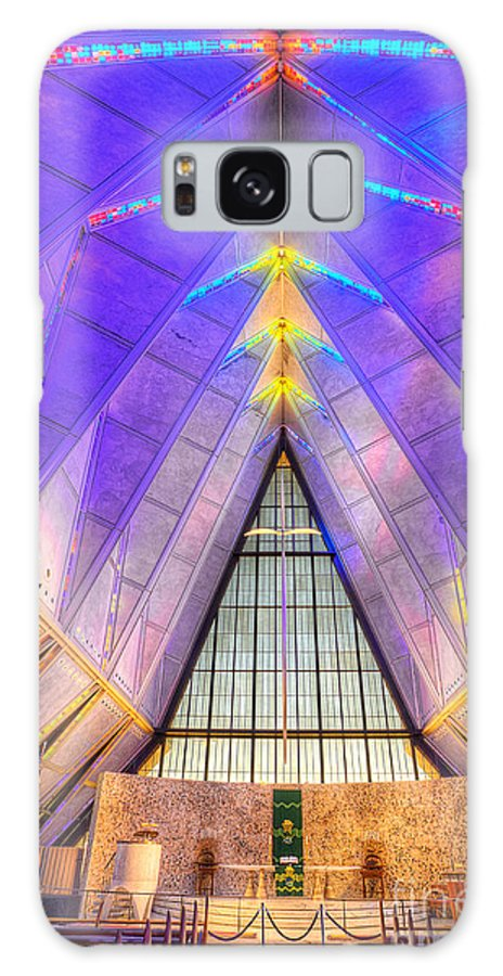 Us Air Force Galaxy S8 Case featuring the photograph Us Air Force Academy Chapel by Jerry Fornarotto