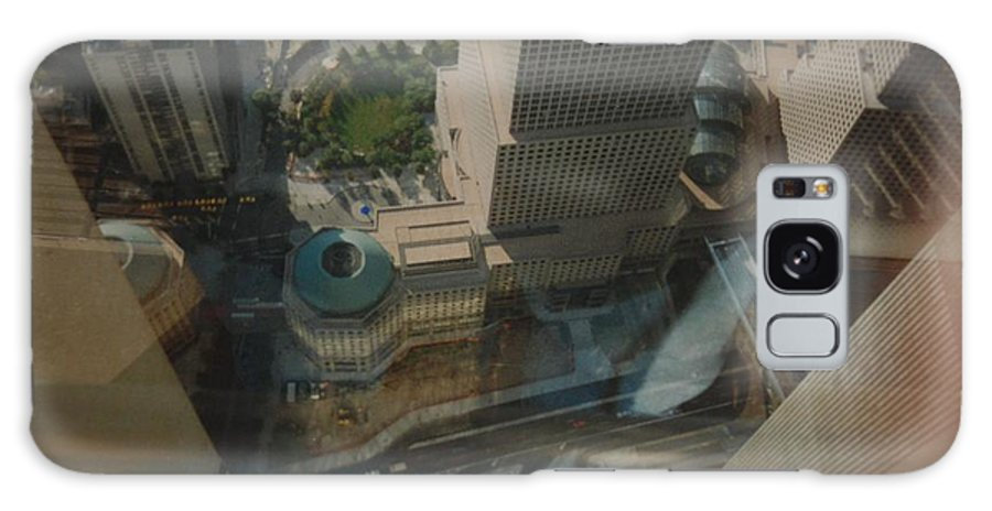 Wtc Galaxy S8 Case featuring the photograph View From The W T C by Rob Hans