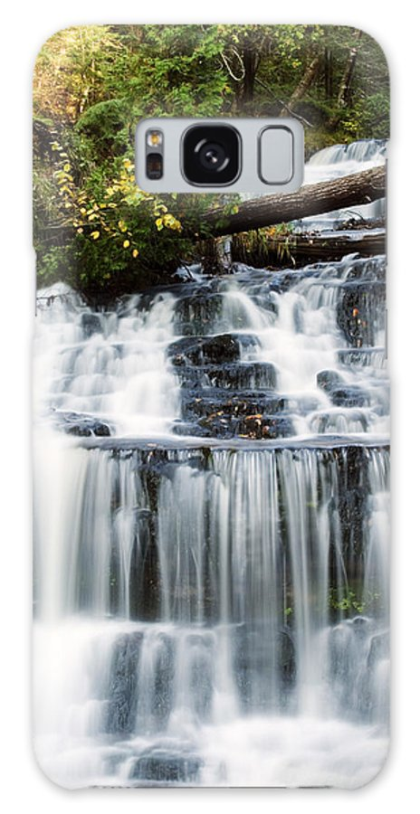 Michigan Galaxy Case featuring the photograph Wagner Falls by Amanda Kiplinger