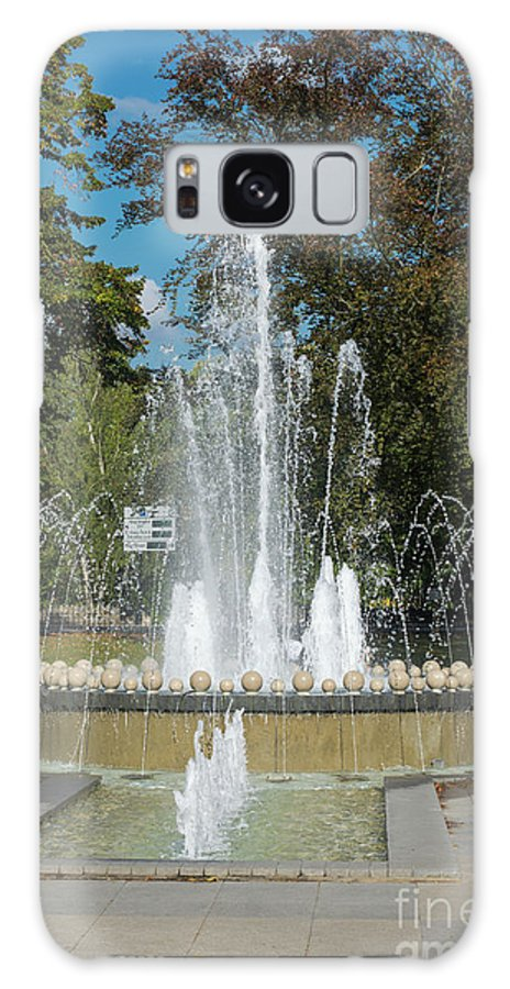 Water Galaxy S8 Case featuring the photograph Water Fountain by F Helm