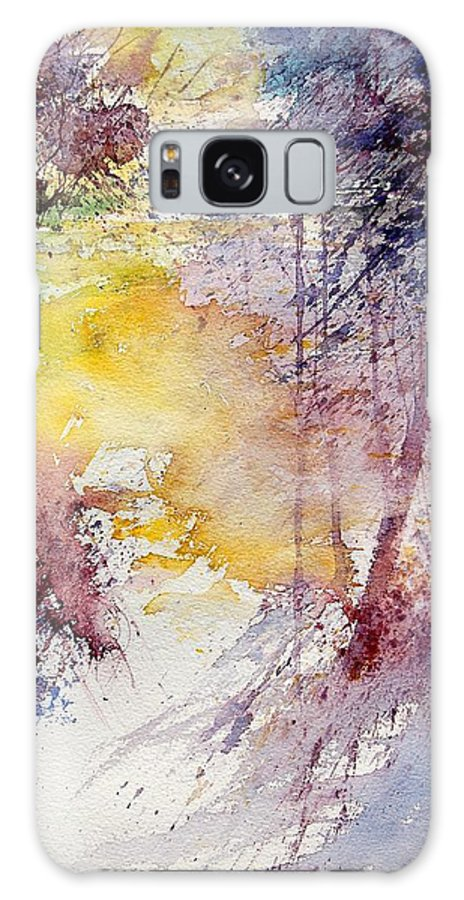 River Galaxy S8 Case featuring the painting Watercolor 040908 by Pol Ledent