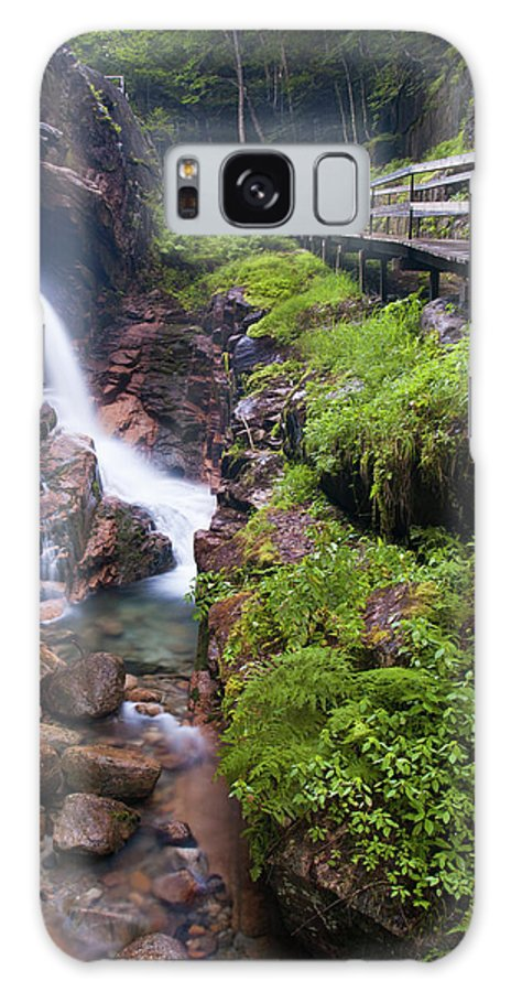 East Coast Galaxy S8 Case featuring the photograph Waterfall by Sebastian Musial