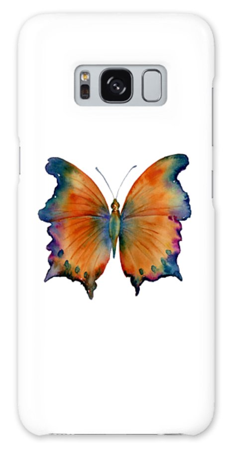 Wizard Butterfly Galaxy S8 Case featuring the painting 1 Wizard Butterfly by Amy Kirkpatrick
