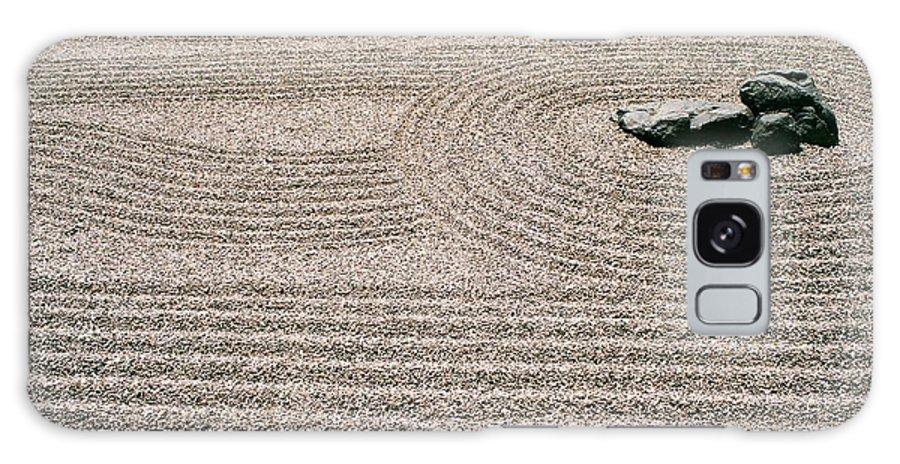 Zen Galaxy S8 Case featuring the photograph Zen Garden by Dean Triolo