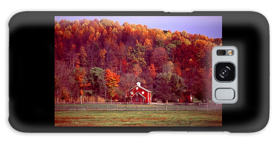 Autumn Galaxy Case featuring the photograph 102701-16 by Mike Davis
