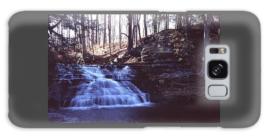 Waterfall Galaxy S8 Case featuring the photograph 111401-4 by Mike Davis