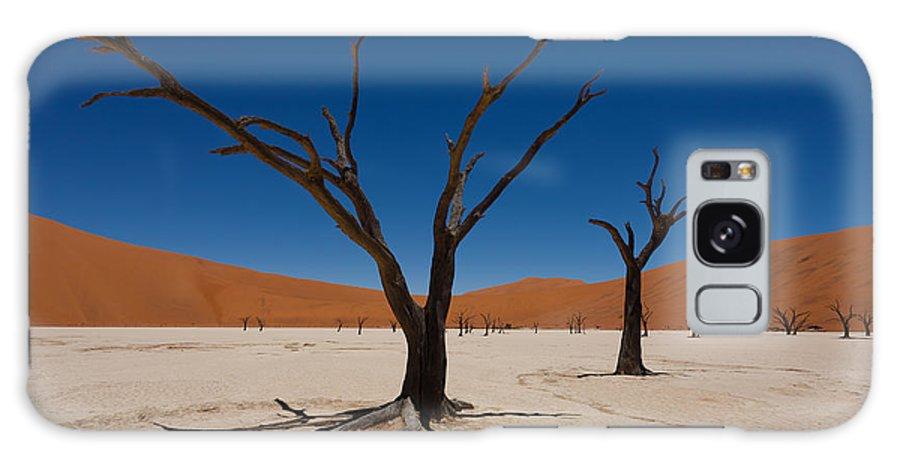 Kalahari Desert Galaxy S8 Case featuring the photograph Dead Vlei by Davide Guidolin
