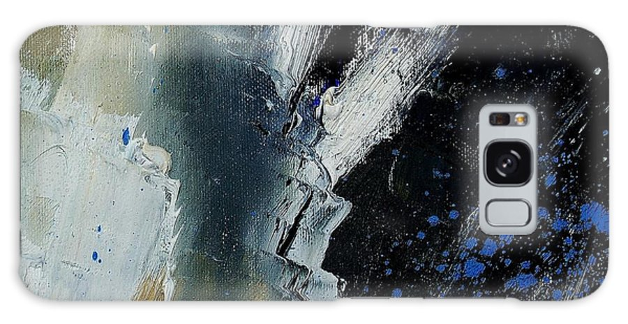 Abstract Galaxy S8 Case featuring the painting 1237 by Pol Ledent