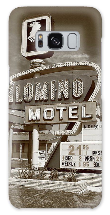 66 Galaxy S8 Case featuring the photograph Route 66 - Tucumcari New Mexico by Frank Romeo