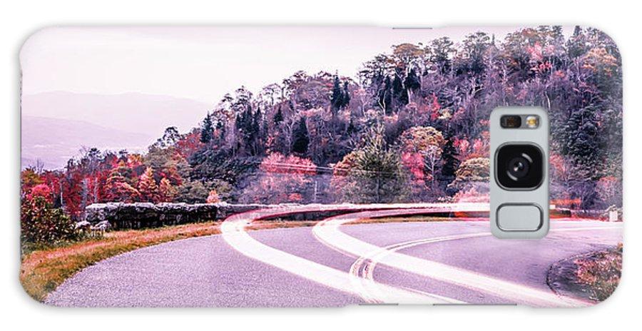 Mountain Galaxy S8 Case featuring the photograph Autumn Season On Blue Ridge Parkway by Alex Grichenko