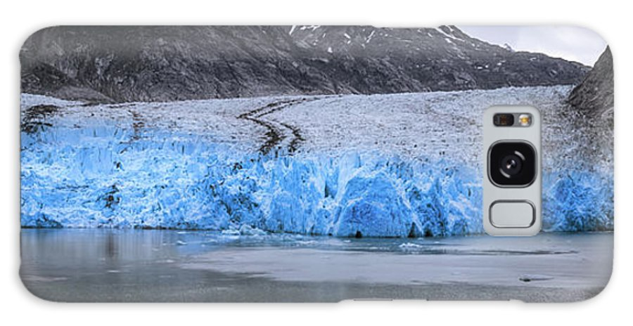 Glacier Galaxy S8 Case featuring the photograph Magnificent Sawyer Glacier At The Tip Of Tracy Arm Fjord by Alex Grichenko