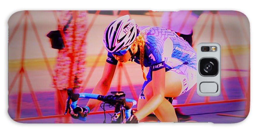 Longsjo Classic Galaxy S8 Case featuring the photograph Fearless Femme Racing by Donn Ingemie