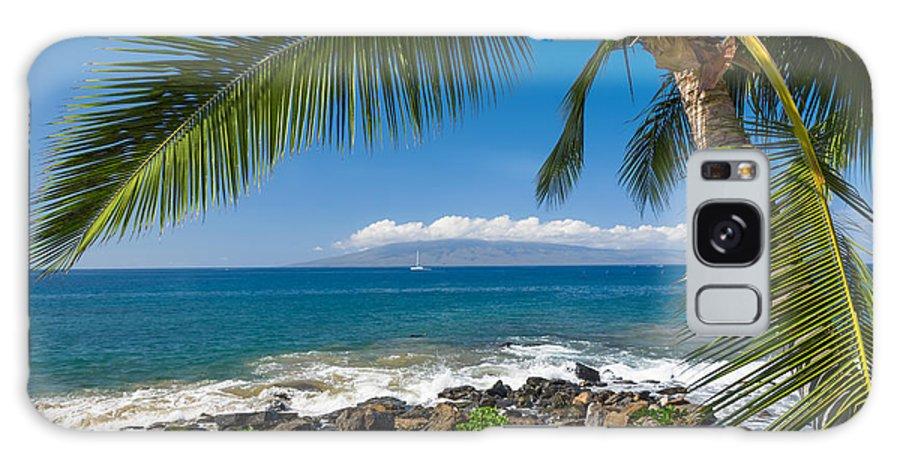 Palm Tree Beach Galaxy S8 Case featuring the photograph Tropical Beach by Mariusz Blach