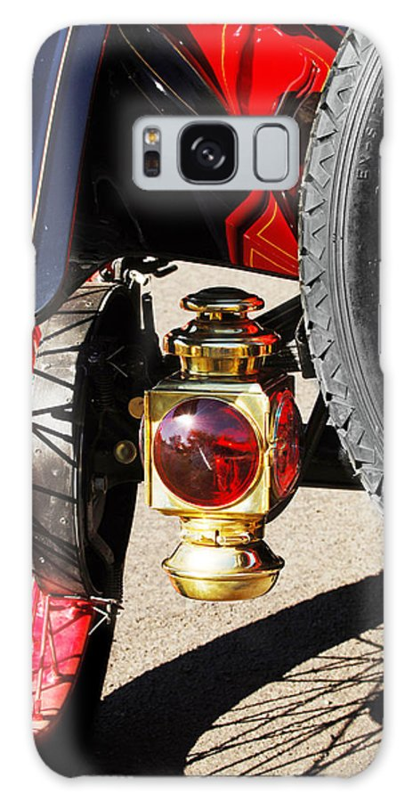 Horseless Carriage Galaxy S8 Case featuring the photograph 1911 Ford Model T Torpedo Lamp by Jill Reger