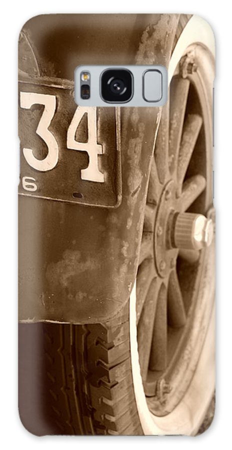 Sepia Galaxy S8 Case featuring the photograph 1926 Model T Ford by Rob Hans