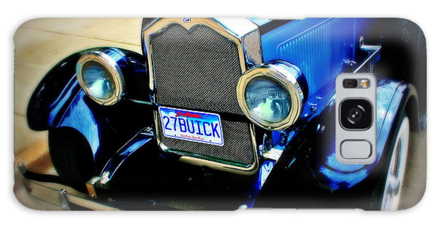Car Galaxy S8 Case featuring the photograph 1927 Blue Buick by Perry Webster