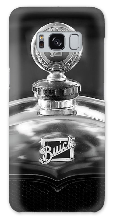 1928 Buick Galaxy S8 Case featuring the photograph 1928 Buick Hood Ornament 2 by Jill Reger