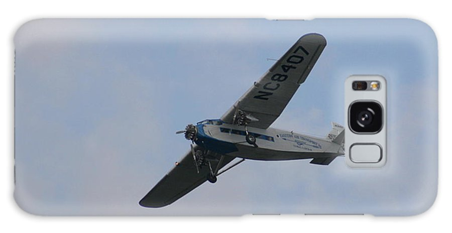 Air Galaxy S8 Case featuring the photograph 1929 Ford Tri Motor Mail Plane Turning by David Dunham
