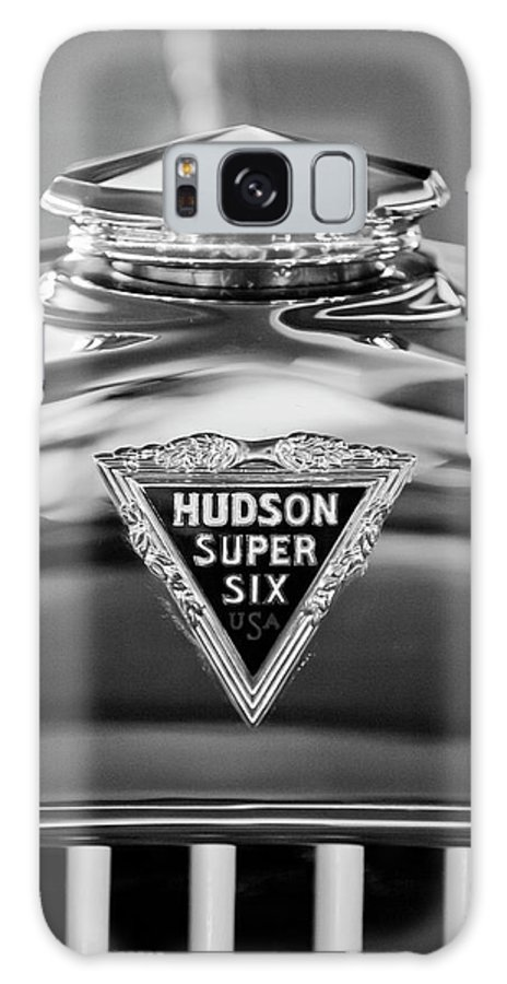 1929 Hudson Cabriolet Galaxy S8 Case featuring the photograph 1929 Hudson Cabriolet Hood Ornament 2 by Jill Reger