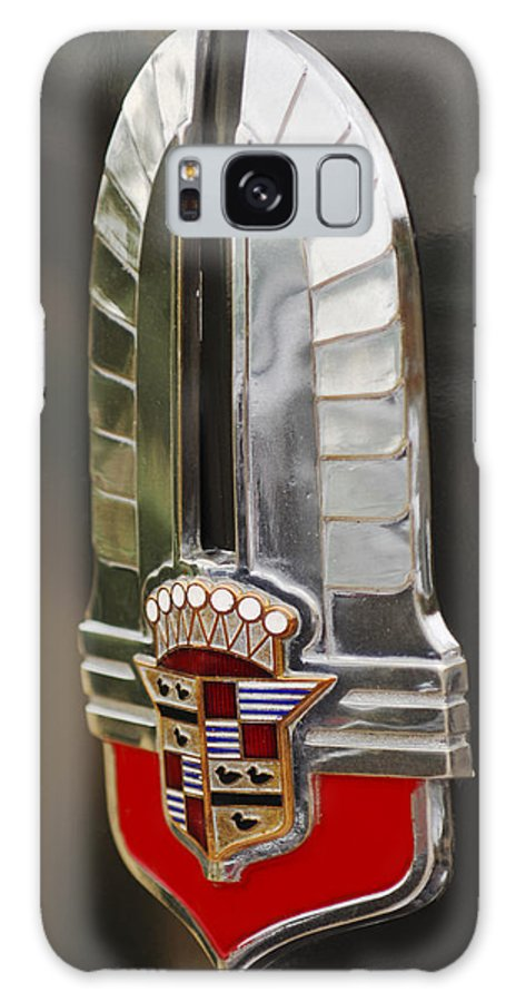 1930's Cadillac Emblem Galaxy S8 Case featuring the photograph 1930's Cadillac Emblem by Jill Reger
