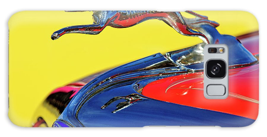 1934 Ford Galaxy S8 Case featuring the photograph 1934 Ford Hood Ornament by Jill Reger