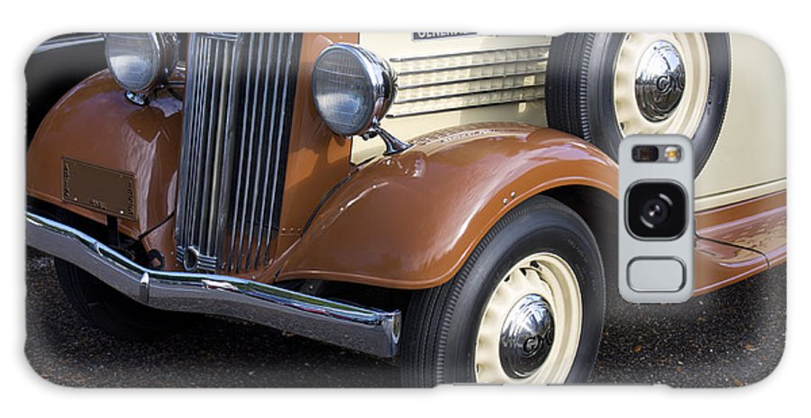Grill Galaxy S8 Case featuring the photograph 1936 Gmc Pickup Truck 1 by Robin Lewis