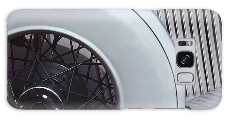Auburn Galaxy S8 Case featuring the photograph 1937 Auburn Salon Cabriolet Side View by Anna Lisa Yoder