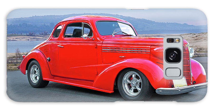 Automobile Galaxy S8 Case featuring the photograph 1938 Chevrolet 'all Business. Coupe by Dave Koontz