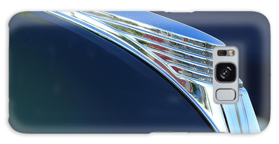 1939 Ford Deluxe Galaxy S8 Case featuring the photograph 1939 Ford Deluxe Hood Ornament by Jill Reger