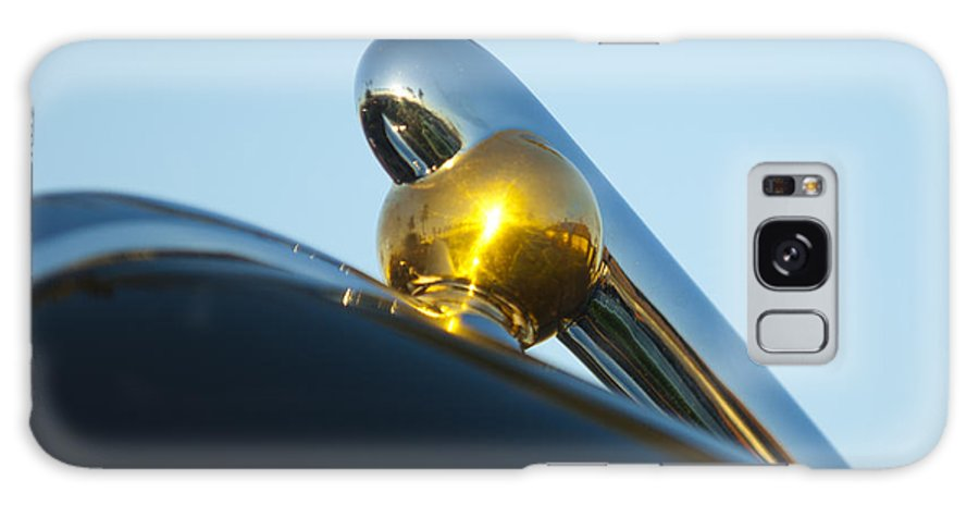 1940 Lincoln Galaxy S8 Case featuring the photograph 1940 Lincoln Hood Ornament by Jill Reger