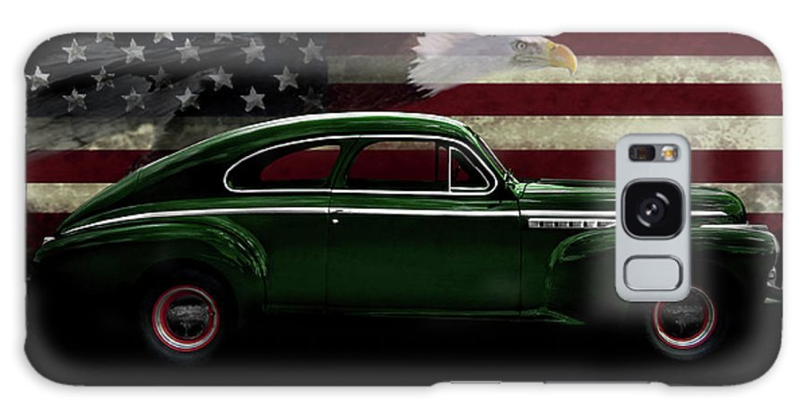 1941 Buick Century Fastback Galaxy S8 Case featuring the photograph 1941 Buick Century Tribute by Peter Piatt