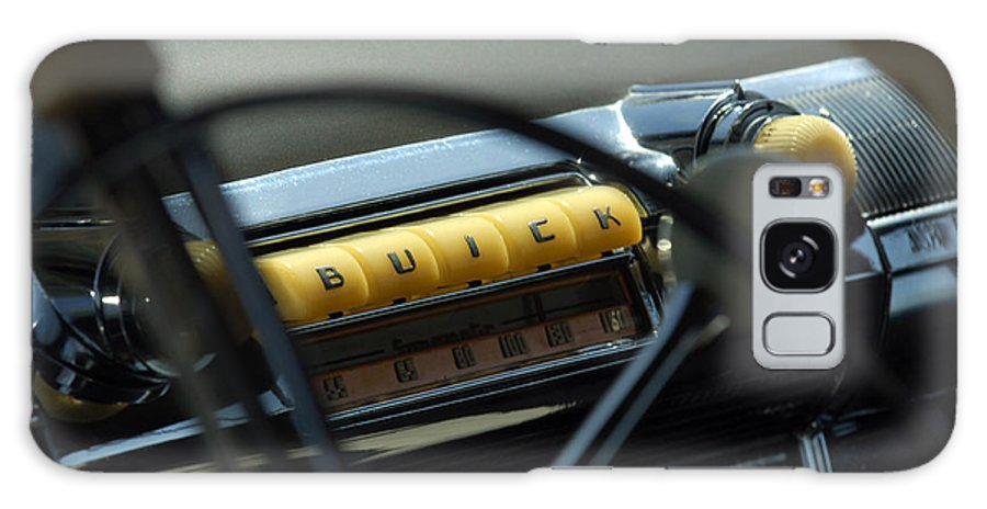 Car Galaxy S8 Case featuring the photograph 1947 Buick Super Radio by Jill Reger