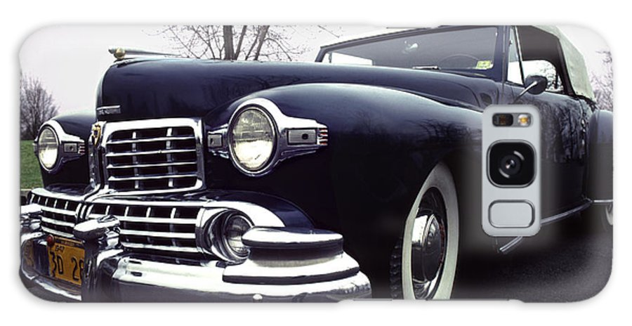 Lincoln Galaxy S8 Case featuring the photograph 1947 Classic Lincoln Ragtop On Moody Day by Anna Lisa Yoder