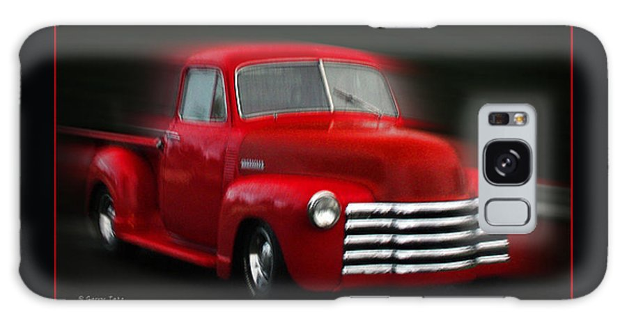 Pickup Galaxy S8 Case featuring the photograph 1948 Chevy Pickup by Gerry Tetz