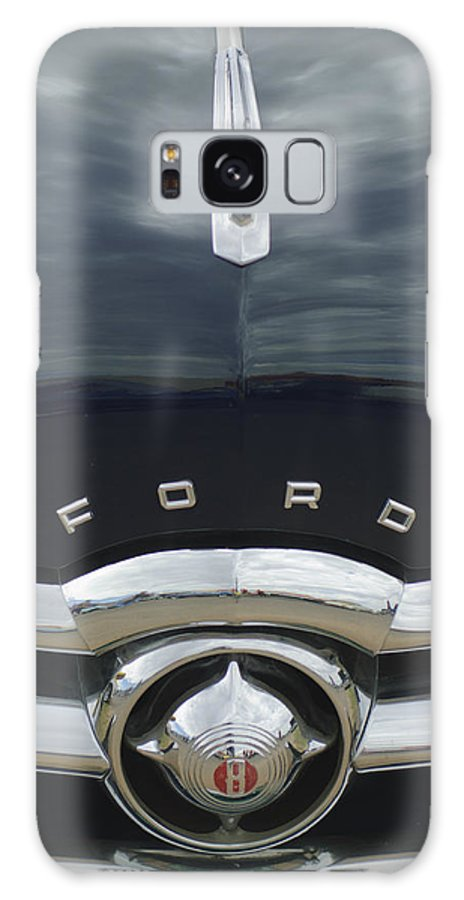 1949 Ford Galaxy S8 Case featuring the photograph 1949 Ford Hood Ornament 4 by Jill Reger