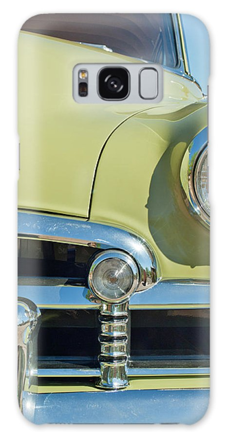 1950 Chevrolet Galaxy S8 Case featuring the photograph 1950 Chevrolet Fleetline Grille by Jill Reger