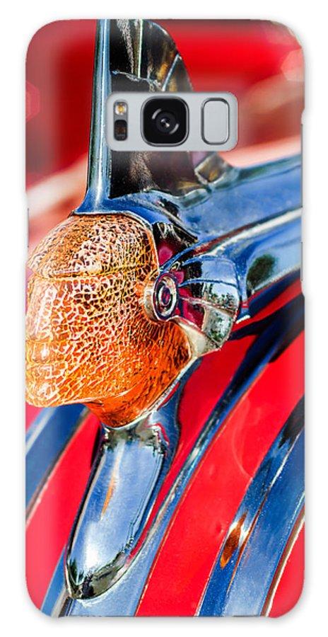 1951 Pontiac Chief Hood Ornament Galaxy S8 Case featuring the photograph 1951 Pontiac Chief Hood Ornament by Jill Reger