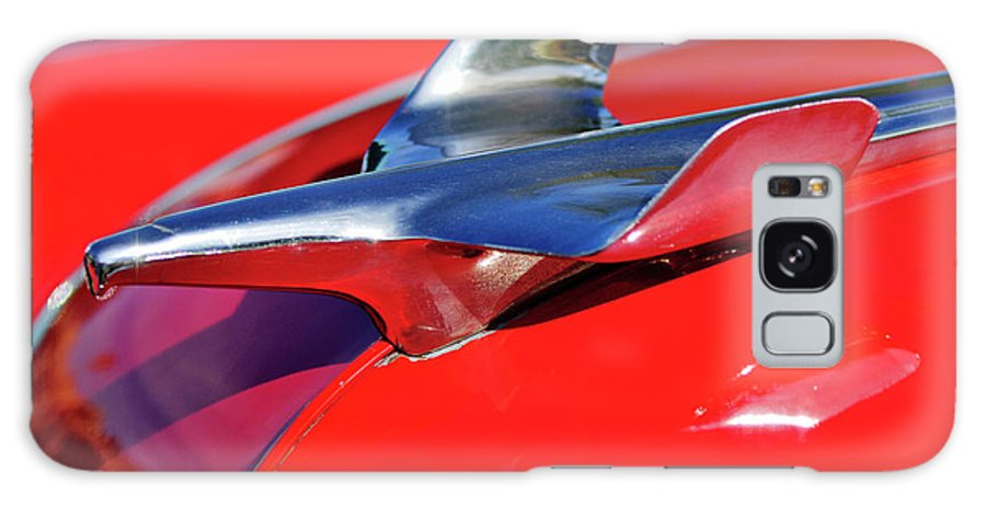 1954 Chevrolet Galaxy S8 Case featuring the photograph 1954 Chevrolet Hood Ornament 3 by Jill Reger