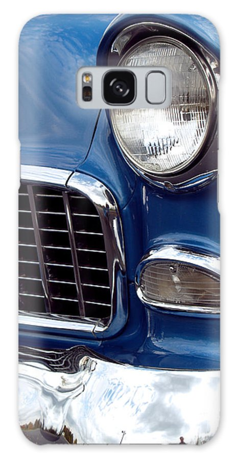Chevy Galaxy S8 Case featuring the photograph 1955 Chevy Front End by Anna Lisa Yoder