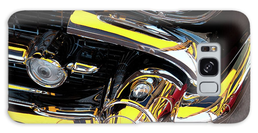 Vehicle Galaxy S8 Case featuring the photograph 1957 Chevy by Roger Mullenhour