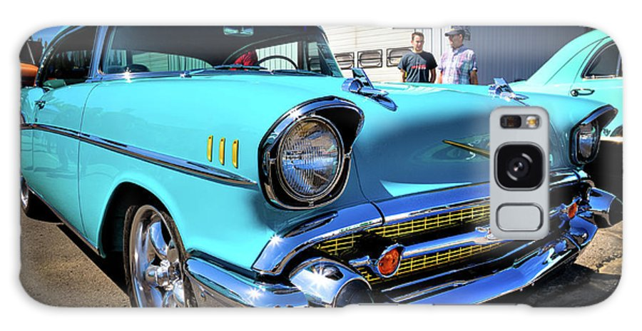 57 Galaxy S8 Case featuring the photograph 1957 Vintage Chevy by David Patterson