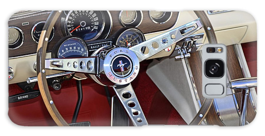 Mustang Galaxy S8 Case featuring the photograph 1966 Mustang by Paul Mashburn
