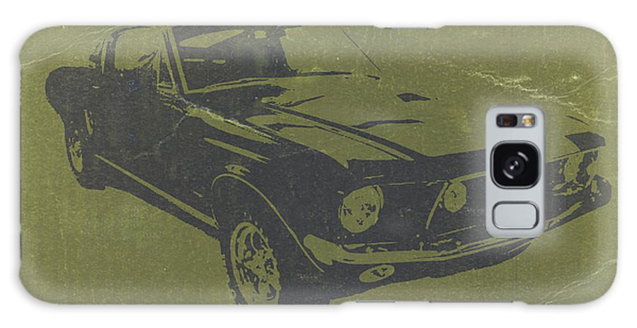1968 Ford Mustang Galaxy S8 Case featuring the photograph 1968 Ford Mustang by Naxart Studio