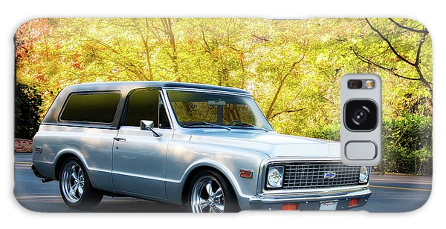 Automobile Galaxy S8 Case featuring the photograph 1971 Chevrolet Tahoe Blazer I by Dave Koontz