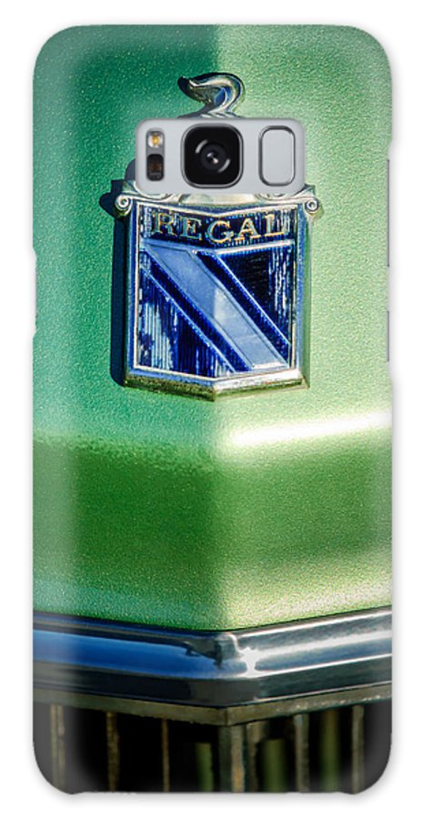 1973 Buick Regal Galaxy S8 Case featuring the photograph 1973 Buick Regal Hood Ornament by Jill Reger