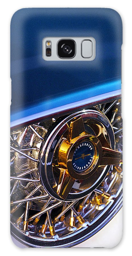 Car Galaxy S8 Case featuring the photograph 1957 Ford Thunderbird Wheel by Jill Reger