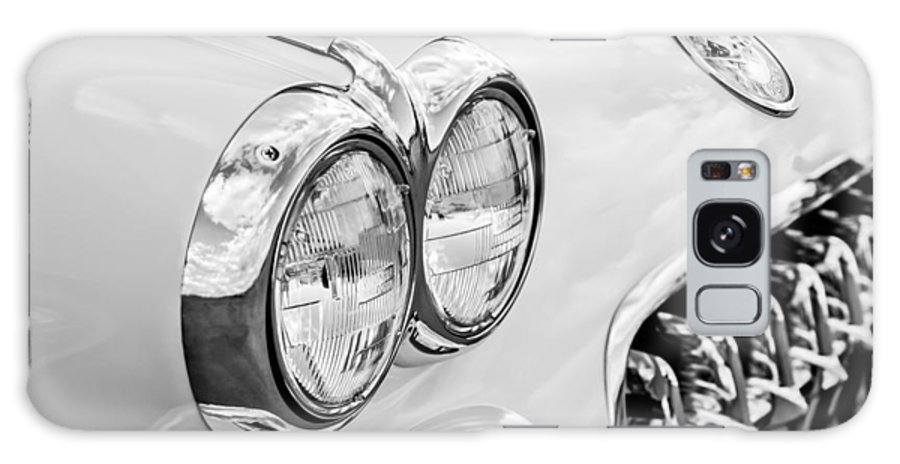 1959 Chevy Corvette Galaxy S8 Case featuring the photograph 1959 Chevrolet Corvette Grille by Jill Reger