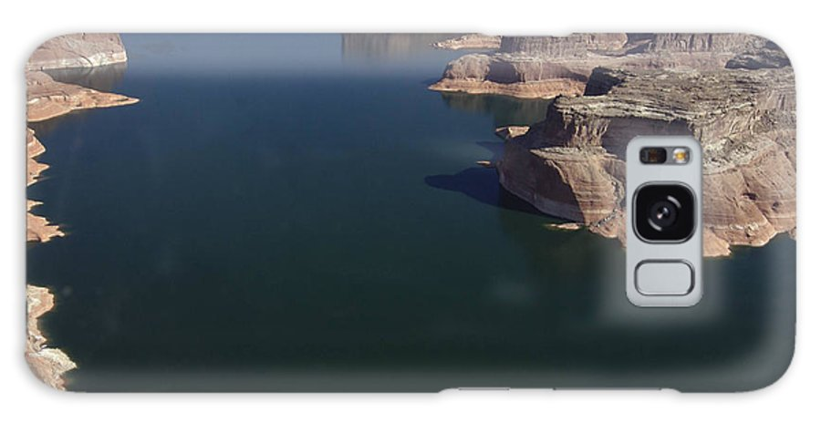 Boating Galaxy S8 Case featuring the photograph Aerial View Of Lake Powell by Carl Purcell