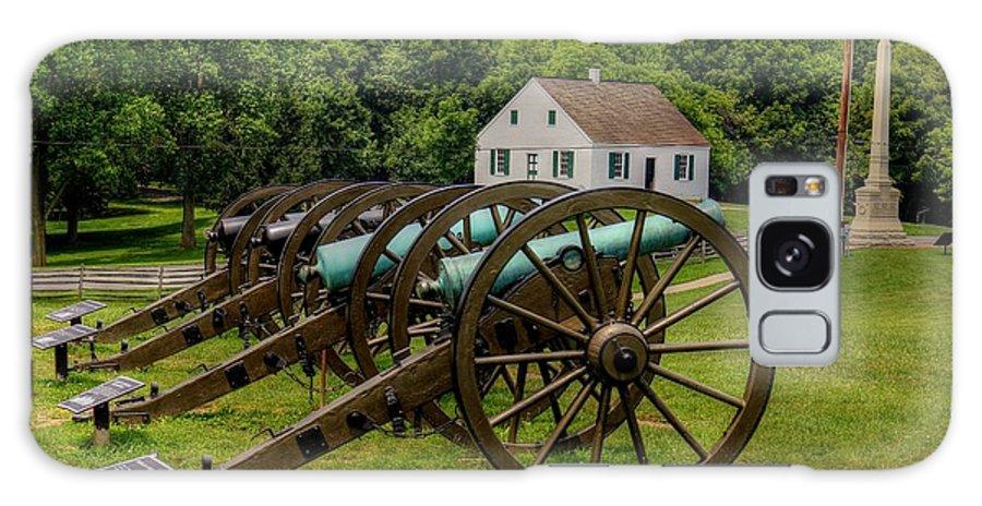 Antietam Battlefield National Park Galaxy S8 Case featuring the photograph Antietam Battlefield National Park by Paul James Bannerman